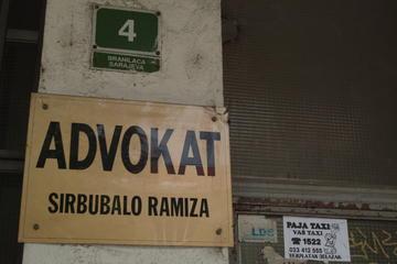 Lo studio di un avvocato a Sarajevo (Foto A. Rossini)
