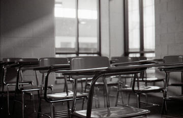 Empty classroom (foto Don Harder)
