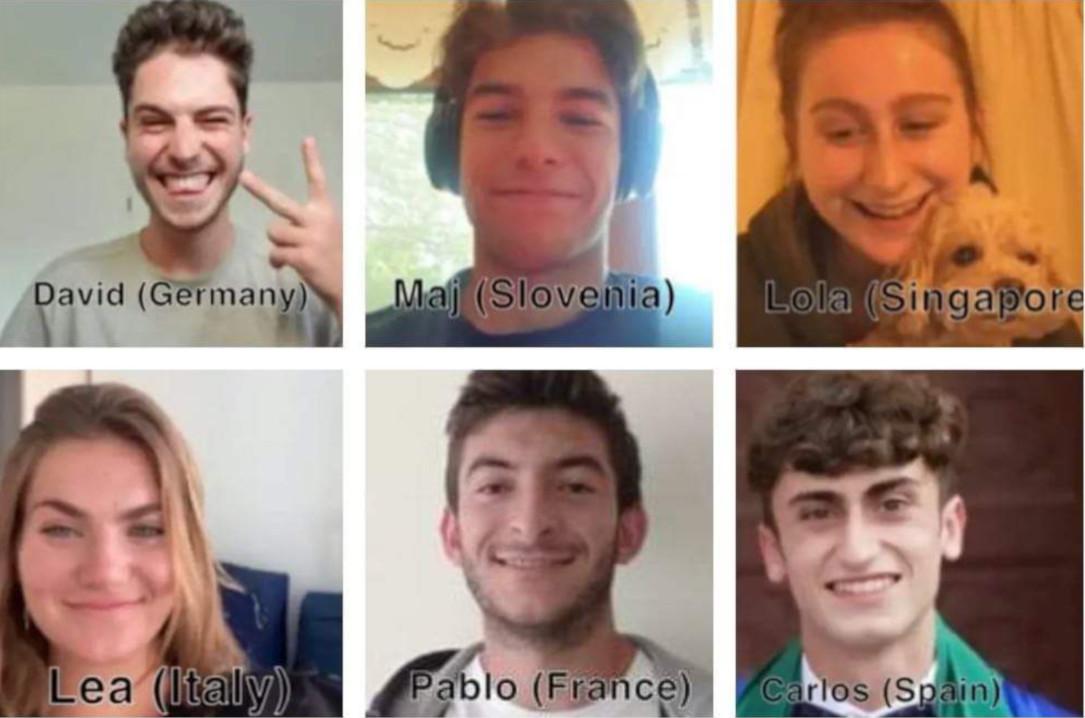 Il gruppo dei sei, dell'UWC Mostar