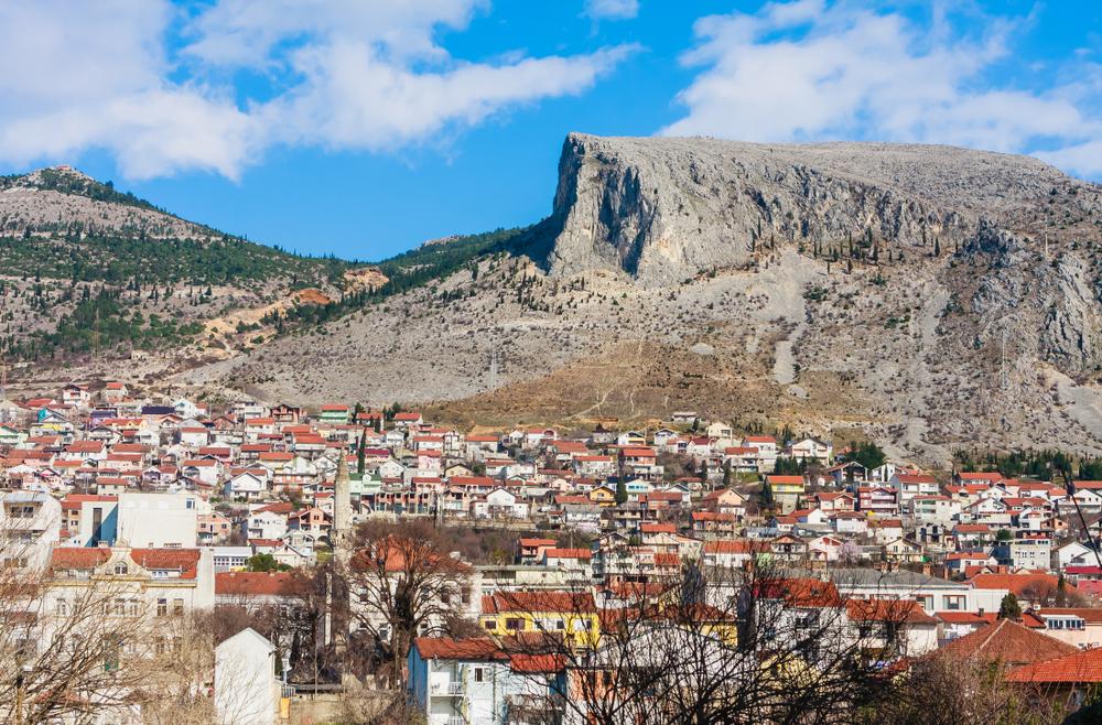 پانورامای موستار ، بوسنی و هرزگوین - © nikolpetr / Shutterstock