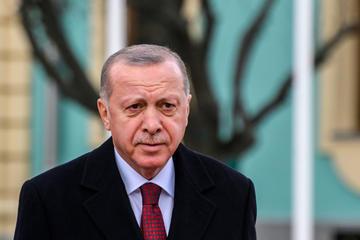 Erdoğan nel 2020 durante una delle sue visite all'estero - Siarhei Liudkevich/Shutterstock