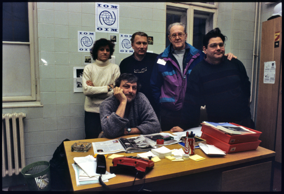 Gino Strada a Sarajevo, 1993 - foto © Mario Boccia.jpg