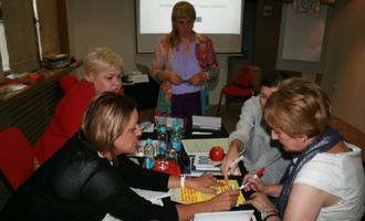 Una delle riunioni fondative della rete di sostegno a Sarajevo (foto BHJA)