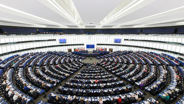 The European Parliament in Strasbourg (photo Diliff)