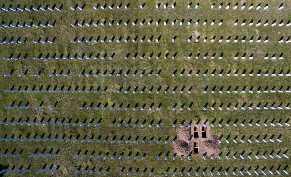 Il memoriale di Potocari - dron ba/Shutterstock