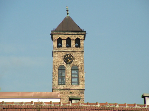 Sarajevo, la torre dell'orologio