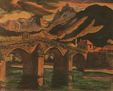 Stari most Konjic - Lazar Drljača