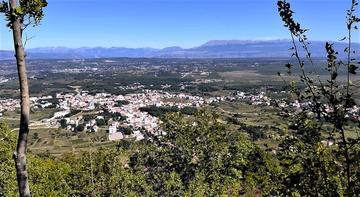 Veduta di Međugorje dalla cima del Monte Križevac - foto di Mariangela Pizziolo