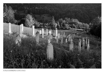 Un cimitero musulmano in Bosnia Erzegovina