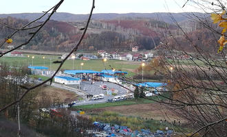 The Maljevac pass (photo G. Vale)