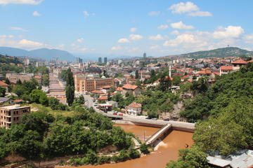 Sarajevo dall'alto, 28 giugno 2014 - foto di N. Corritore (OBC)