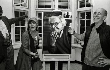 Gli amici di Izet lo ricordano al teatro Kamerni (foto M. Boccia)