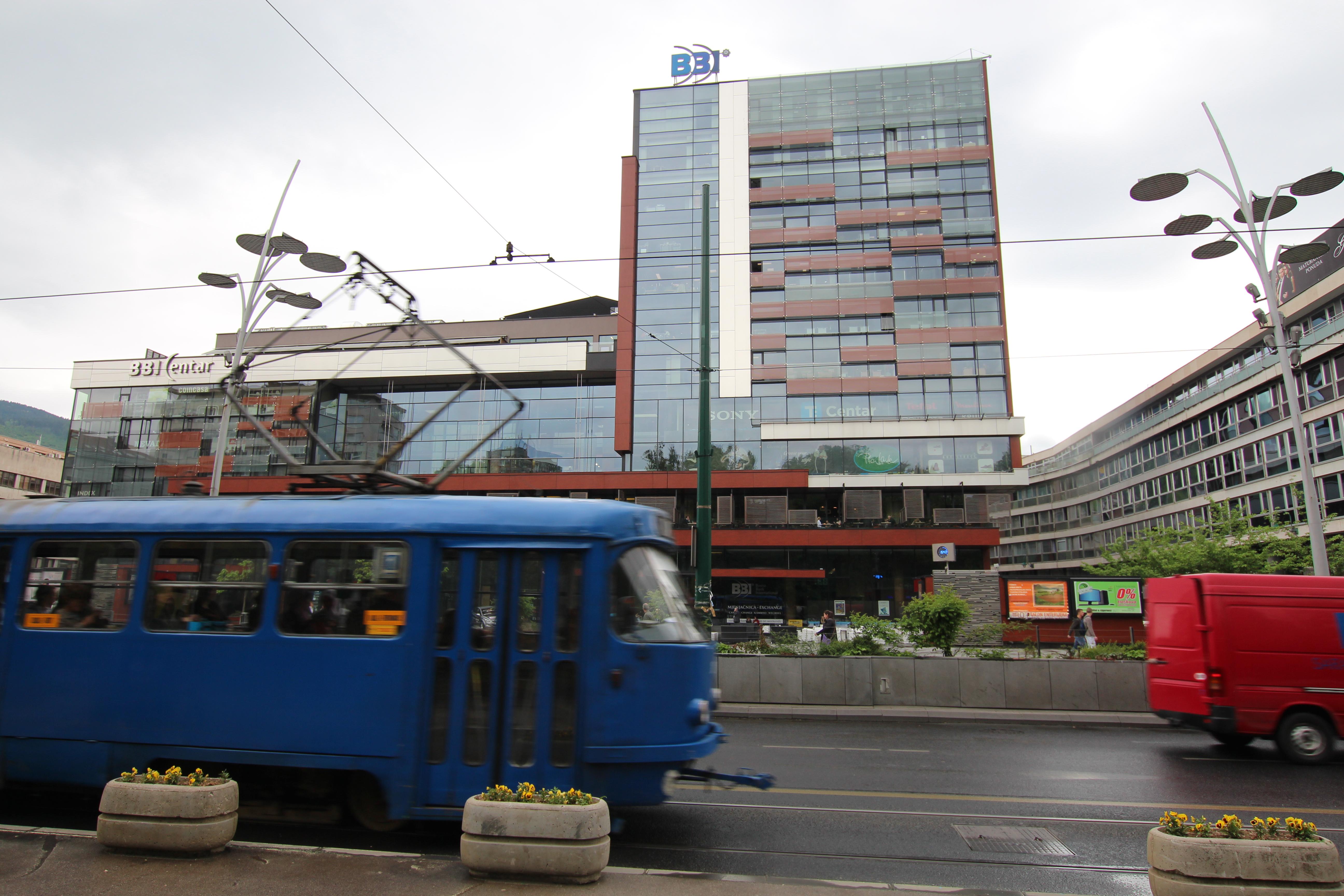 Sarajevo, il BBI (Foto M. Fontasch)