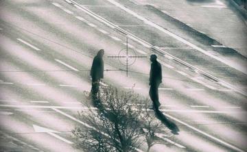 Dal libro Shooting in Sarajevo, foto © Luigi Ottani