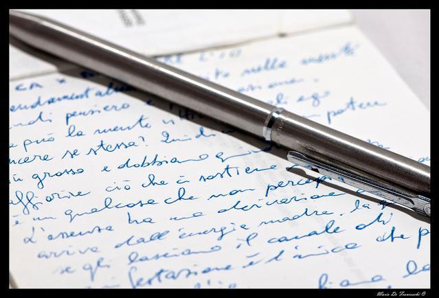 Appunti, foto di M Defra - Flickr.com