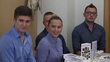 Gli autori durante una presentazione del libro (foto youtube)