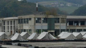 Ex-complesso Agrokomerc, Velika Kladuša - foto Collettivo Checkmate
