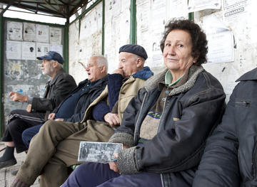Elderly Bulgarians
