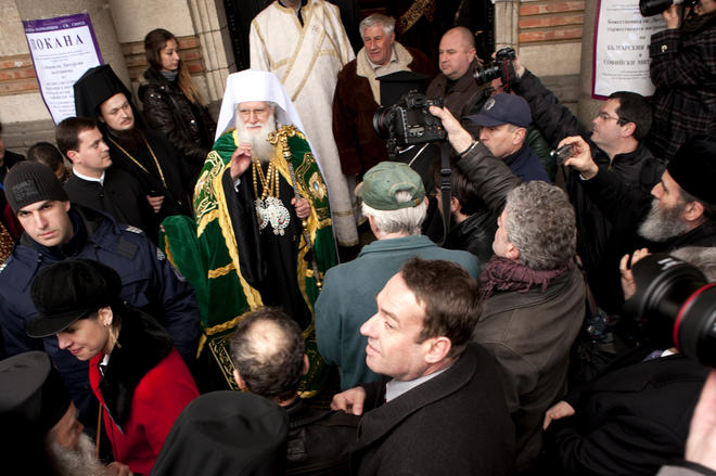 Il nuovo patriarca bulgaro Neofit - Francesco Martino/OBC