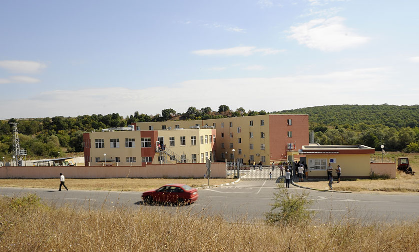 "The ""transit center"" of Pastrogor (Photo F. Martino)"