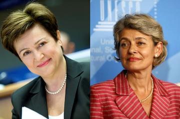 Kristalina Georgieva e Irena Bokova