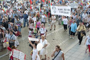 Manifestazione a Sofia, Bulgaria - F.Martino/OBC