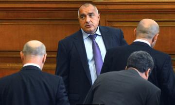 Boyko Borisov in the Sofia parliament - © Ju1978/Shutterstock