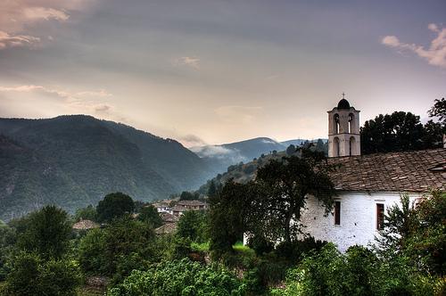 Paesaggio dei Rodopi, Bulgaria