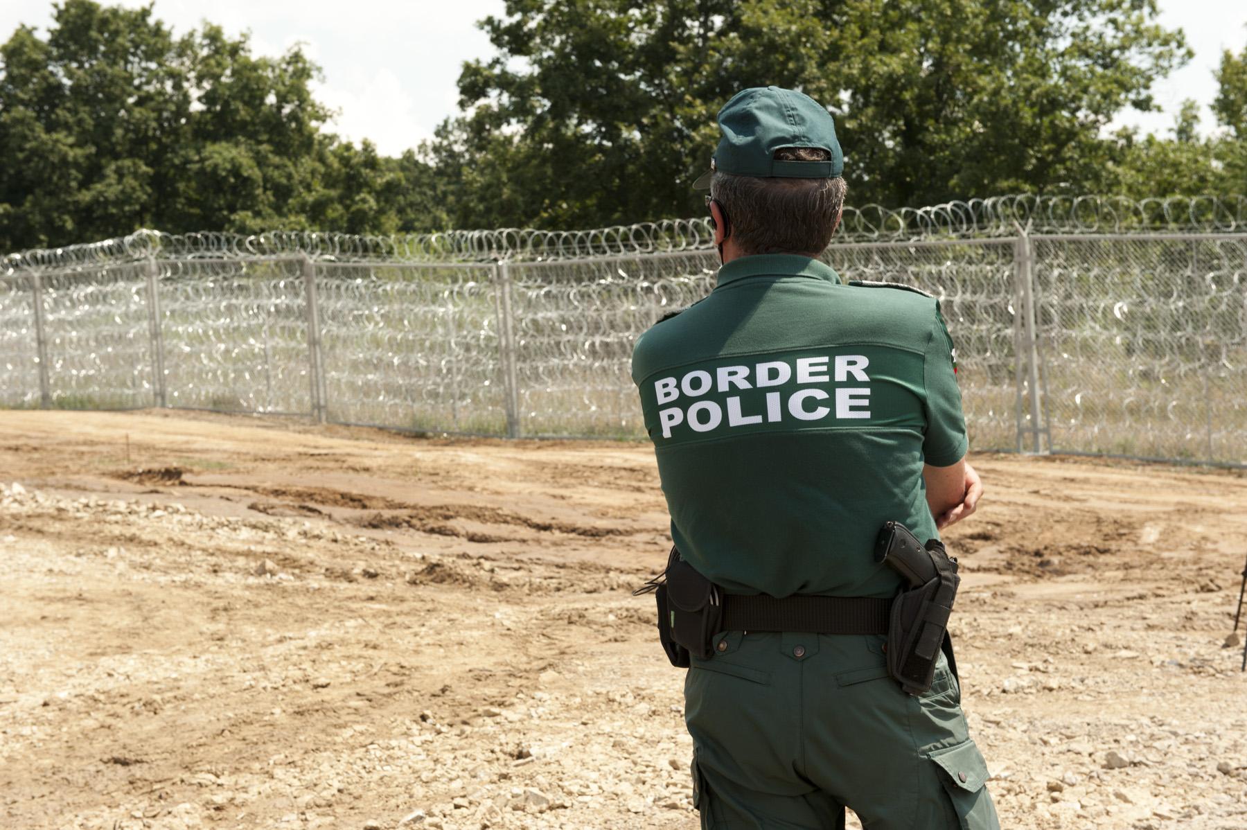 Lungo il muro costruito sul confine bulgaro-turco - fmartino/OBCT