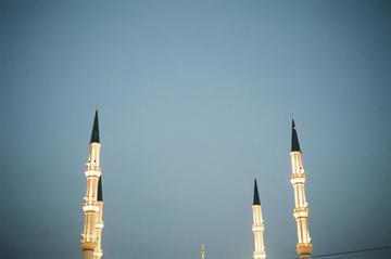 Grozny, la moschea centrale (Foto alevtina, Flickr)