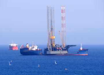 Piattaforma petrolifera a Cipro - Andriy Markov/Shutterstock