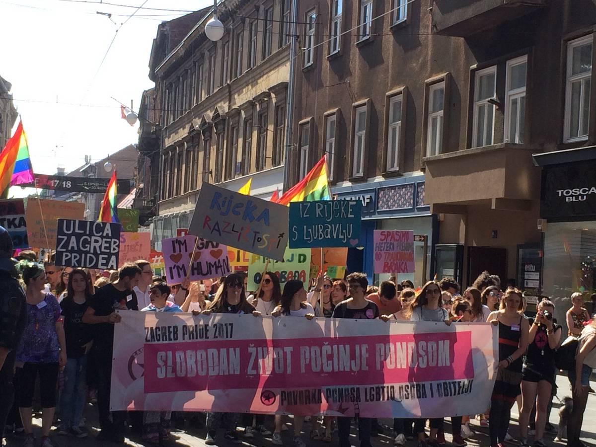 Pride a Zagabria (foto (F. Rolandi)