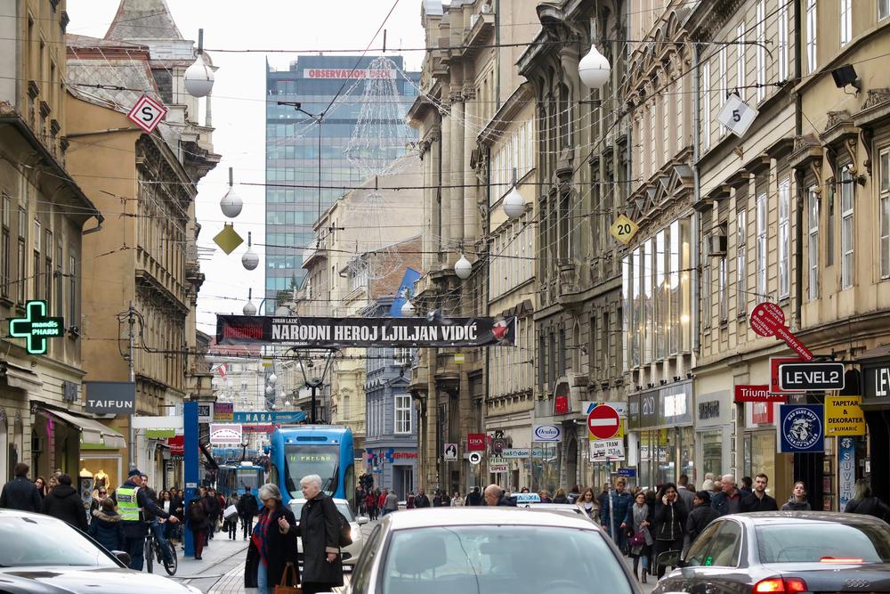 خیابان در مرکز زاگرب - عکس © Hrvoje Gradecak / Shutterstock