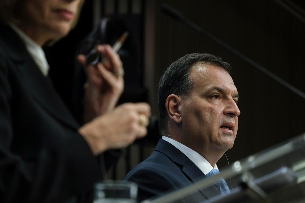 Il ministro della Sanità croato Vili Beroš (foto © Alexandros Michailidis/Shutterstock)