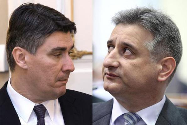 Zoran Milanović e Tomislav Karamarko