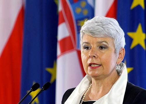 Il premier croato Jadranka Kosor