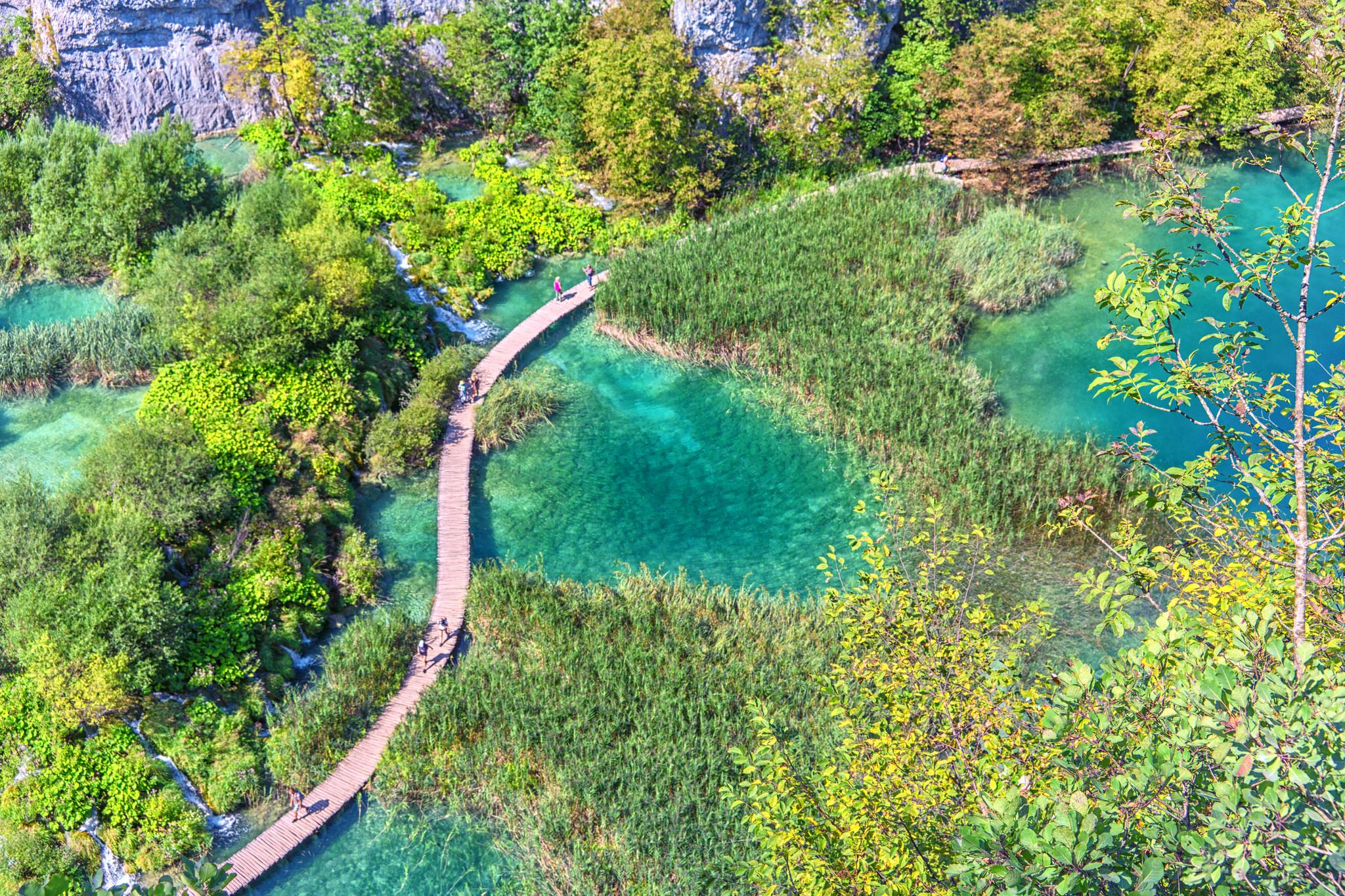 Croazia i laghi di plitvice declassati dall 39 unesco for Disegni di laghi