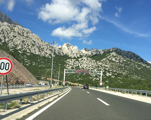 Autostrada in Croazia