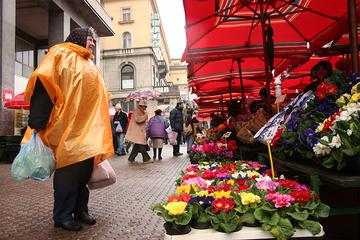 Market place in Zageb (photo OBCT)