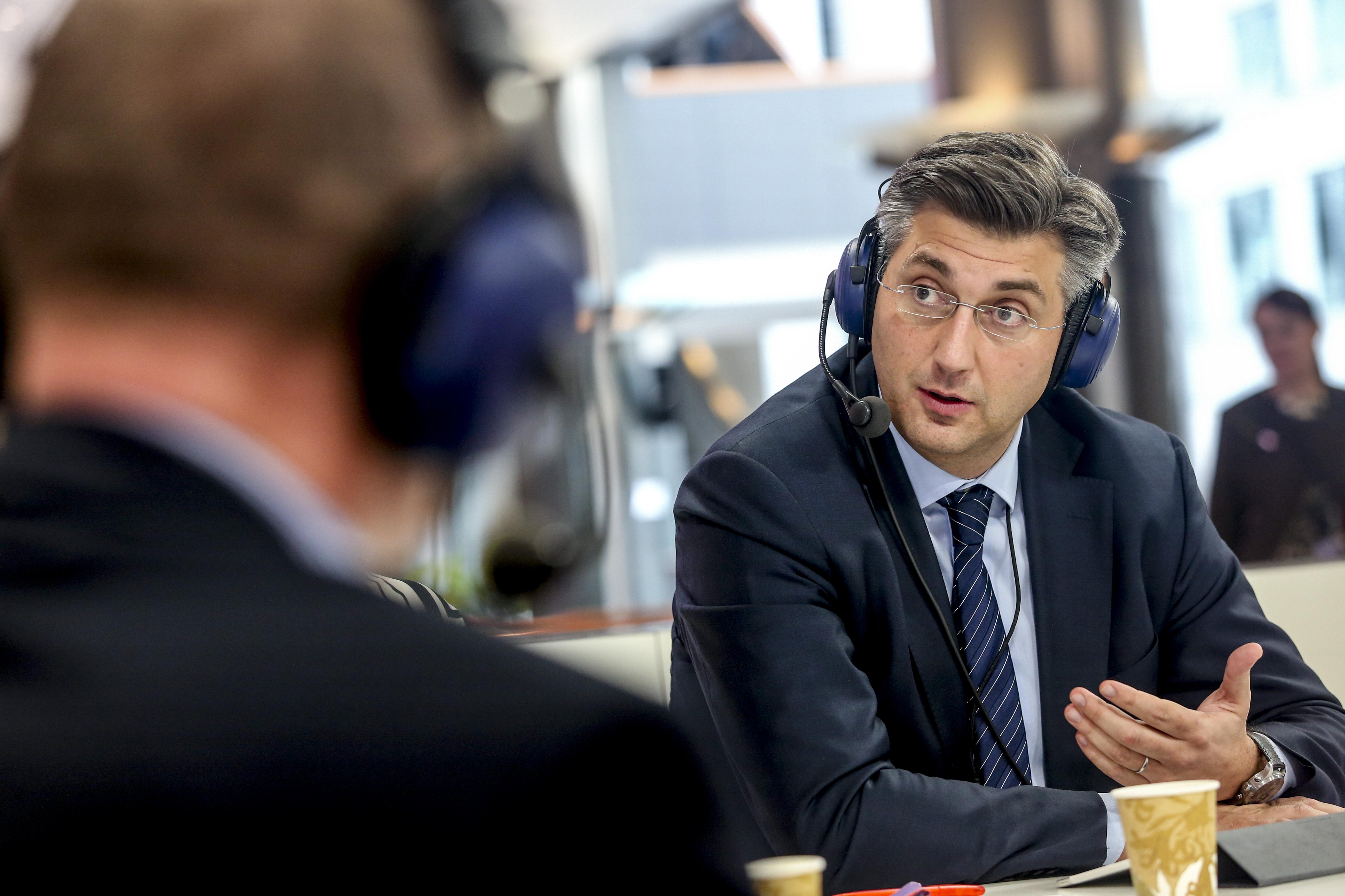 Andrej Plenković ai tempi del Parlamento europeo