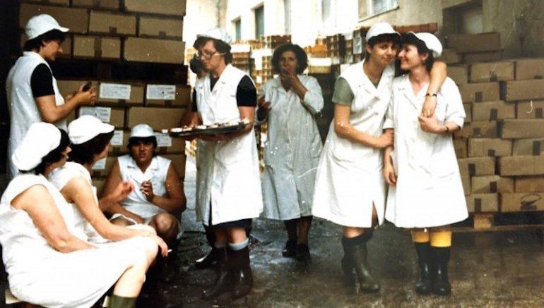 Lavoratrici della Plavica a Cres, foto H-Alter