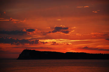 Sunset on the Prevlaka peninsula (photo by L. Zanoni)