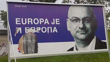 Election poster (photo © D. Jović )