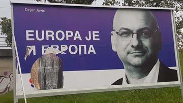 Cartellone elettorale (foto © D. Jović )