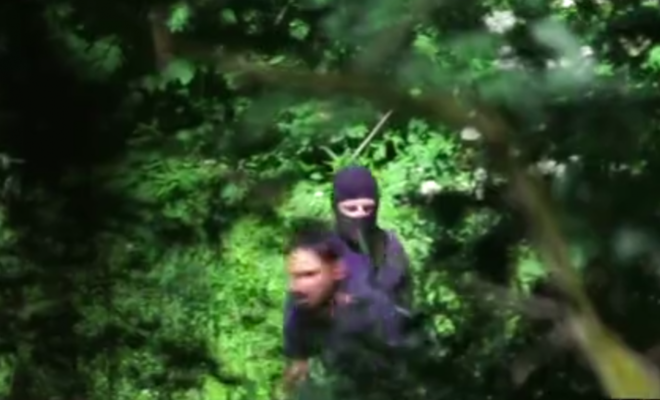 A scene from the video produced by Lighthouse Reports