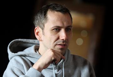 Oliver Frljić (foto Radio Študent)