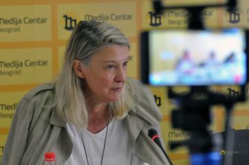 Vesna Teršelič (foto Medija centar Beograd)