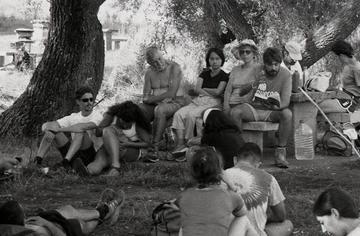 Un'immagine di alcuni partecipanti ad un viaggio di FuoriVia - www.fuorivia.org