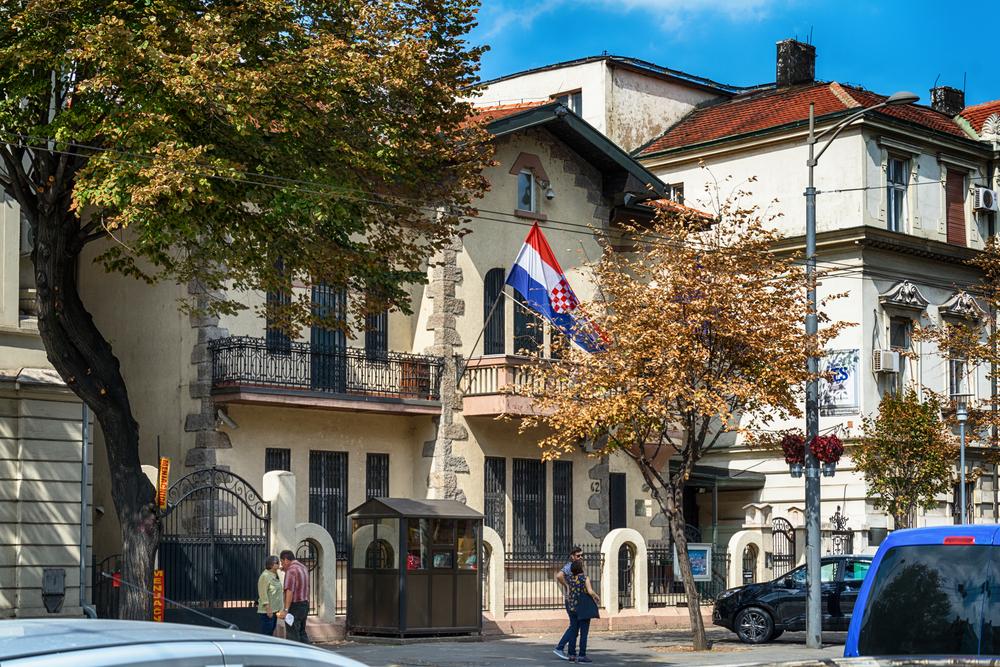 Ambasciata croata a Belgrado © Nenad Nedomacki/Shutterstock
