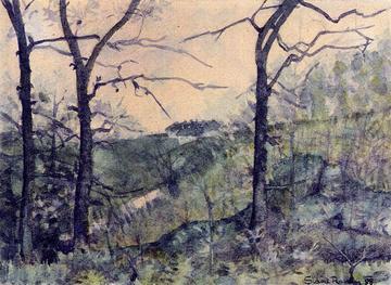Vista di Ozalj (1898) Slava Raškaj
